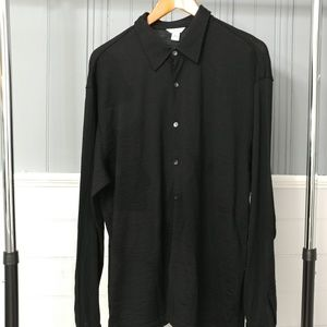Calvin Klein 100% merino wool shirt XL